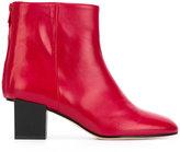 Marc Ellis - contrast heel boots - women - Leather/Suede - 37