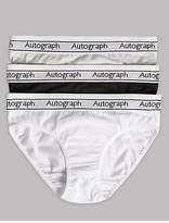 Autograph 3 Pack Cotton Briefs with Stretch (6-16 Years)