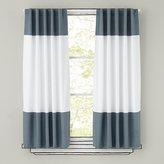 """Color Edge Grey 84"""" Curtain"""