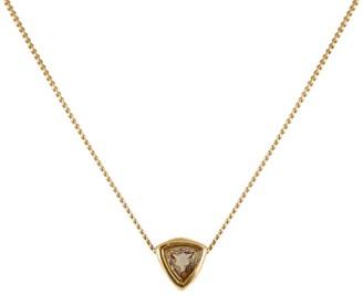 Lee Renee Smoky Quartz Trillion Cut Necklace