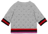 Gucci Girl's Hearts & Stars Quilted Sweatshirt