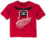 Reebok Baby Detroit Red Wings Lace-Up Graphic Tee