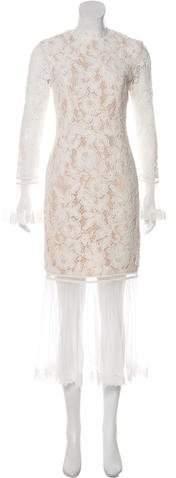 Alexis Lace Maxi Dress w/ Tags