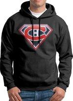 Sarah Men's New Montreal Canadiens Superman Nhl Logo Hoodie L