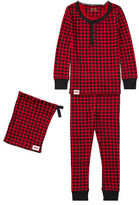 Ralph Lauren 2-6X Buffalo Check Pajama Set