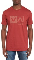 RVCA Men's Warped Dotty Graphic T-Shirt
