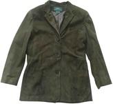 Lauren Ralph Lauren Green Leather Leather Jacket for Women Vintage