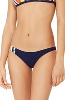 Tory Burch Women's Stripe Bikini Bottoms
