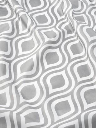 Croydex Grey Medallion Shower Curtain