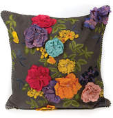 Mackenzie Childs MacKenzie-Childs Covent Garden Floral Pillow