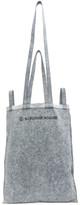 MM6 MAISON MARGIELA Blue Denim Six-Handle Bag