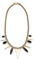 Iosselliani Brass Necklace With Triangles