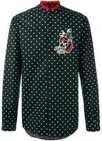 Dolce & Gabbana Good Times drummer patch shirt - men - Cotton/Viscose - 39