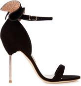 Sophia Webster Maya embellished-bow suede sandals