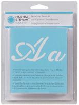 Martha Stewart Alphabet Stencils 48/pkg-fancy - Font Size 1.375,part Ms3227-75