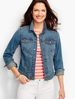 Talbots The Classic Denim Jacket-Bluebell Wash