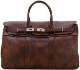 Brunello Cucinelli large shoulder bag - men - Leather - One Size