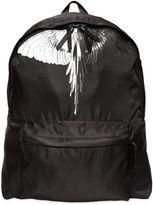 Marcelo Burlon County of Milan Aish Wings Printed Nylon Backpack