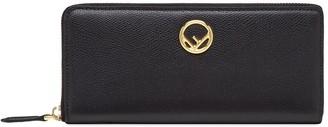 Fendi F is zip around wallet