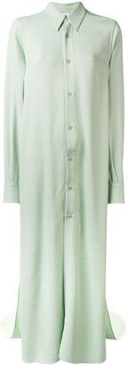 Ami Long Dress Shirt With Long Sleeves