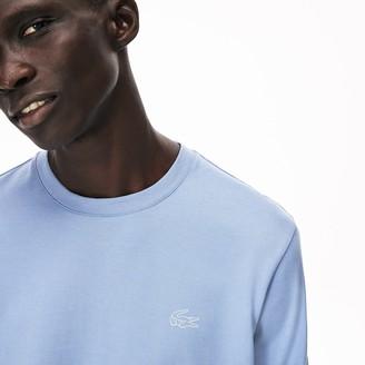 Lacoste Mens Reflective Croc Regular Fit Cotton T-shirt