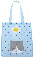 Forever 21 FOREVER 21+ Dreaming Cat Graphic Tote Bag
