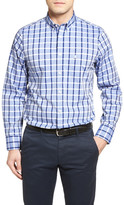 Nordstrom Smartcare Windowpane Check Sport Shirt (Big)