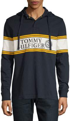 Tommy Hilfiger Long-Sleeve Cotton Hoodie