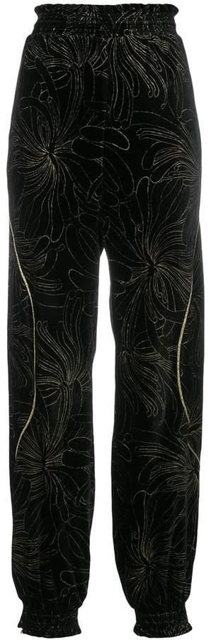 Chloé floral track pants