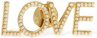 Bijoux De Famille Love Faux Pearls Pin