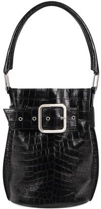 Giuseppe Zanotti Wanda belt-detail bucket bag