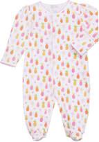 Kissy Kissy Prismatic Pineapples Printed Footie Playsuit, Size Newborn-9 Months