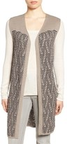 Nic+Zoe Women's 'Traveling Cables' Long Sweater Vest
