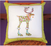 Patience Brewster Vixen Reindeer Pillow