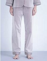 Bodas Verbier cotton pyjama bottoms