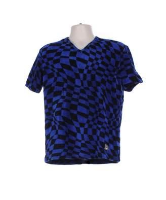 Versace Blue Cotton T-shirts