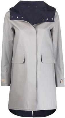 Herno Bonded-Seam Hooded Raincoat