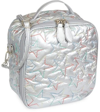 Bari Lynn Metallic Star Lunch Box