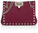 Valentino Garavani Mini Rockstud Leather Shoulder Bag