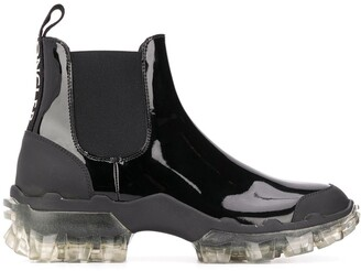 Moncler clear-sole Chelsea boots