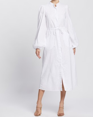 Atmos & Here Jatola Midi Dress