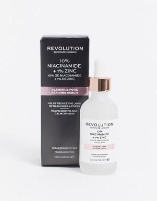 Revolution Skincare 10% Niacinamide + 1% Zinc SuperSized Blemish & Pore Refining Serum