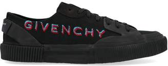 Givenchy Logo Lace Up Tennis Sneakers