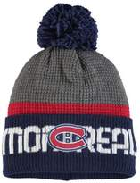 Reebok Montreal Canadiens Cuffed Pom Knit Toque