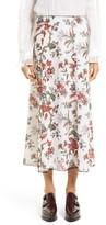 McQ by Alexander McQueen Women's Floral Print Skirt
