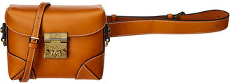 MCM Berlin Vachetta Leather Belt Bag