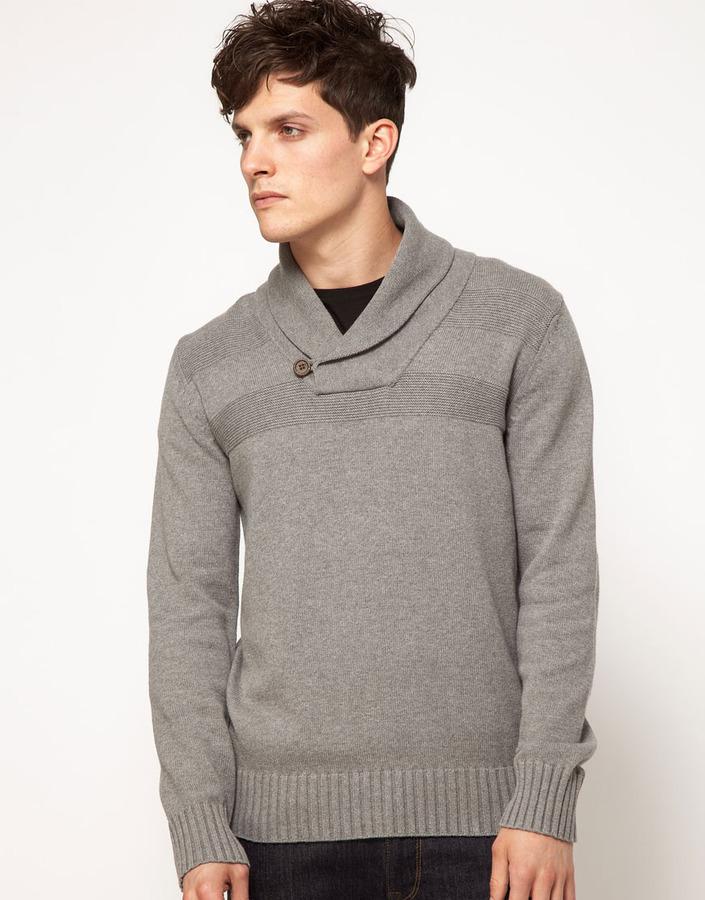 Esprit Shawl Neck Sweater