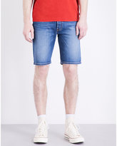 Levi's 501 Hemmed Stretch-denim Shorts