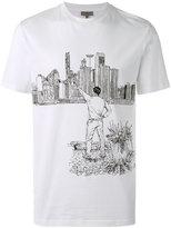Lanvin printed T-shirt - men - Cotton - S