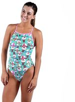 Women's Dolfin Uglies V-2 Holiday Graphic One-Piece Swimsuit